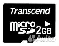 Карта памяти Transcend microSD 2Gb 89102983899 купить 1