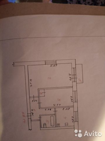 2-к квартира, 43 м², 4/5 эт. 88362503950 купить 7