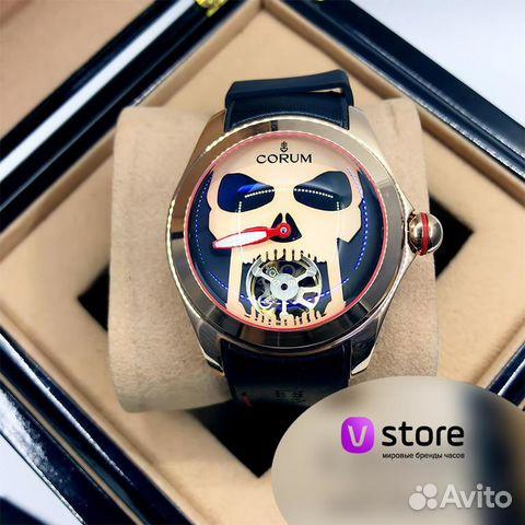 d06b66cf Мужские наручные часы Corum - Skull купить в Москве на Avito ...