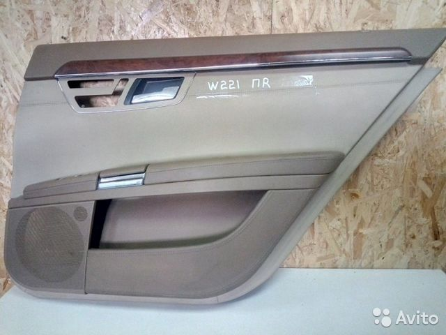 89026196331 Обшивка двери задняя правая Mercedes-Benz S-Classe