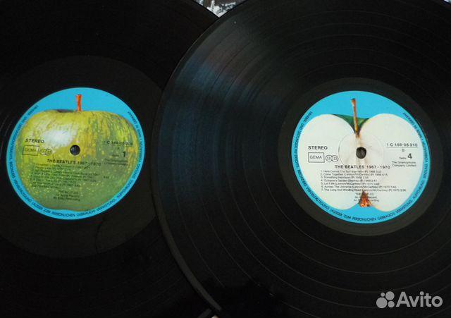 The Beatles 1967-70 2LP винил 89827156165 купить 4
