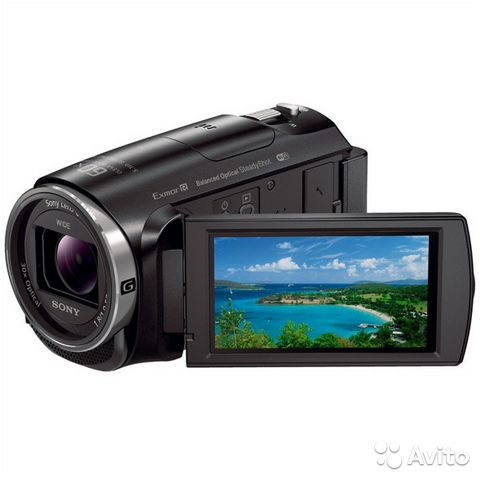 Видеокамера Full HD Sony HDR-CX620 Black