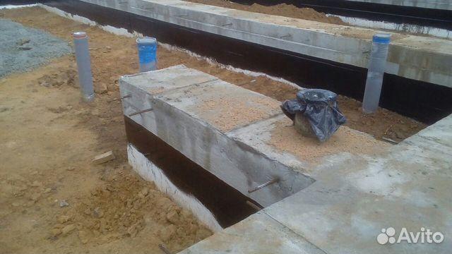 Фундамент/ бетонные работы/ Ленточный фундамент 89582647855 купить 2