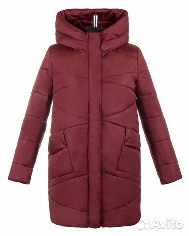Куртка женская бордовая, размер 48-50