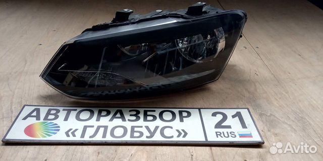 Фара левая volkswagen polo поло