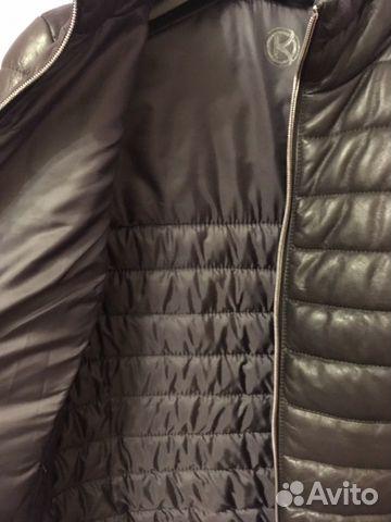 Куртка кожаная демисезонная  89056454254 купить 2