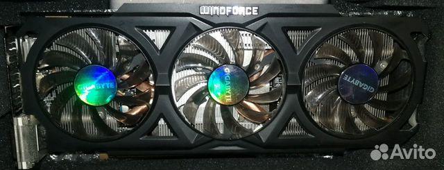 2 видеокарты Gigabyte Radeon R9 270X и HD7870 89525471700 купить 1