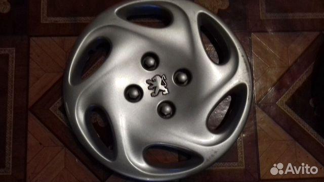 Колпаки Peugeot 14 оригинал, 3 шт., заводские 89616992624 купить 4