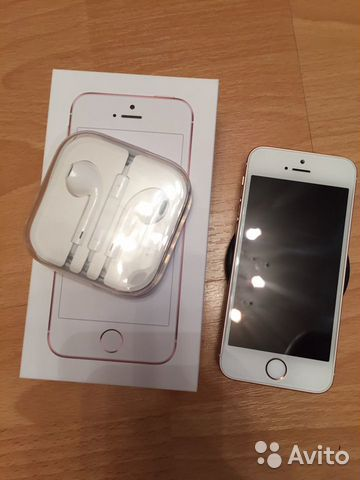 iPhone se rose gold 32gb 89992283025 купить 1