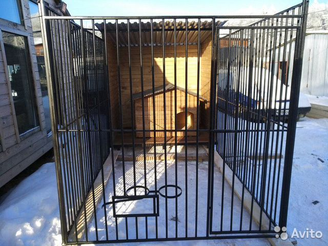 Клетка для собак, вольер 2,0х3,5 м