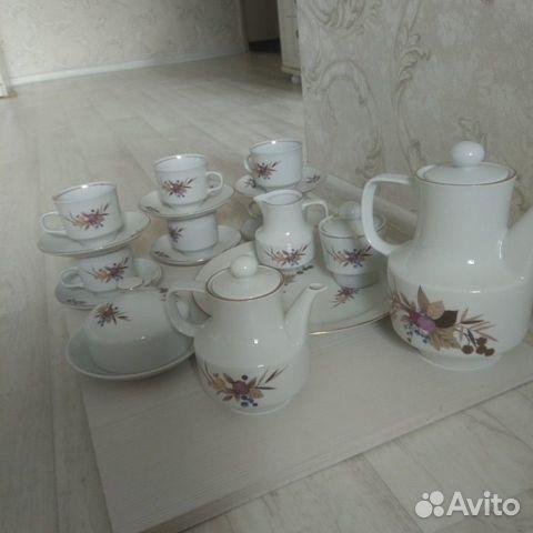 Чайный сервиз на 6 персон. Кольдиц. Гдр 89128807271 купить 2