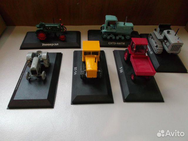 Модели тракторов 1/43(ашет)
