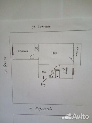 2-к квартира, 42 м², 4/5 эт. 89034946949 купить 10
