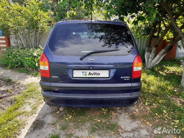 Opel Zafira, 1999 89606305632 купить 3