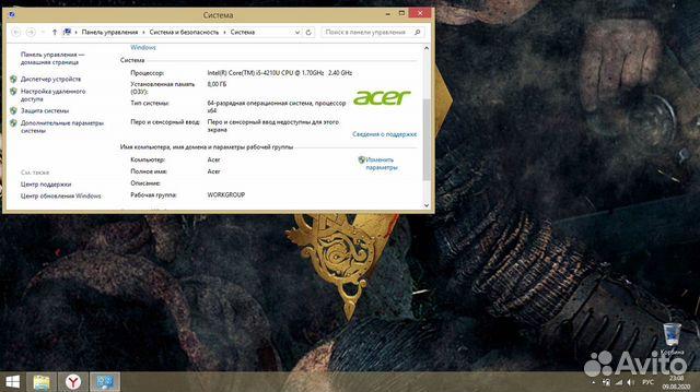 Продам игровой Аceр i5 8озу 1 tb 2gb  89516995754 купить 4