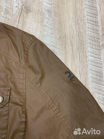 Мужская коричневая прорезиненная куртка Calamar  89218780739 купить 6