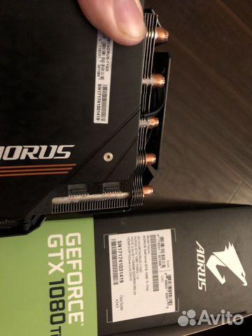 Видеокарта GTX-1080ti 11gb. aorus  89063137454 купить 8
