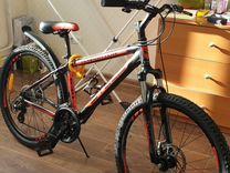 Горный велосипед stels navigator 630V 2018 + насос