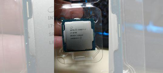 Процессор intel Core i7-8700 купить в Ставропольском крае | Бытовая электроника | Авито