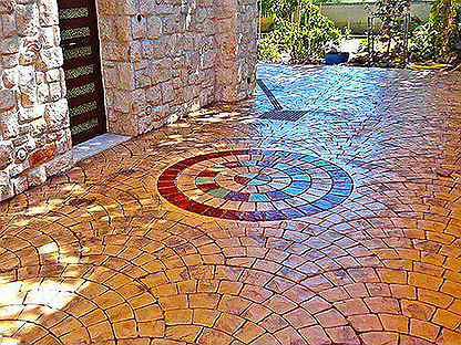 Штамп для бетона купить в леруа мерлен молоток шмидта по бетону купить