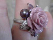 Новое серебряное кольцо
