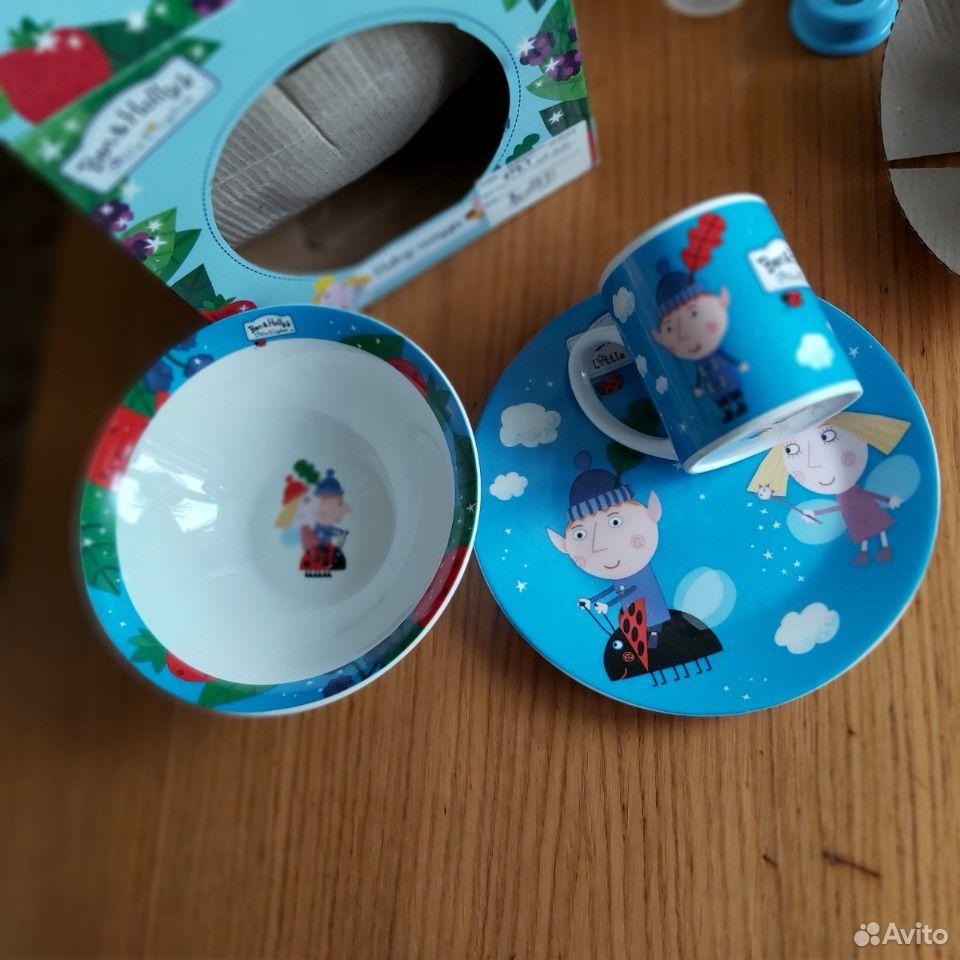 Набор детской посуды (3 предмета)  89173191130 купить 5