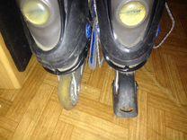 Роликовые коньки (размер 41)
