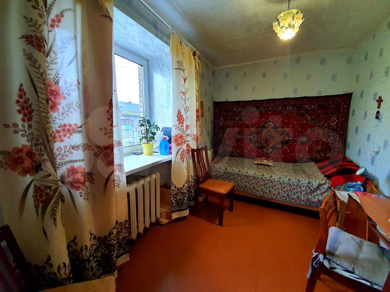4-к квартира, 62 м², 5/5 эт.