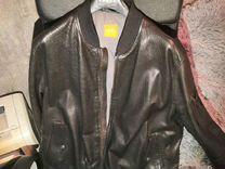 Куртка кажаная Boss — Одежда, обувь, аксессуары в Москве