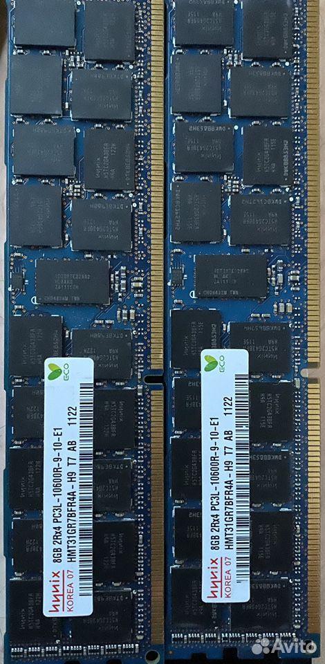 Оперативная память 2x8 gb ecc  89296260594 купить 1