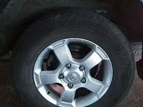 Комплект диски+ шины.Тайота LC 100