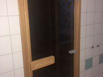 Инфракрасная сауна saunalux с душевой кабиной