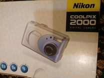 Фотоаппарат Nikon coolpix 2000