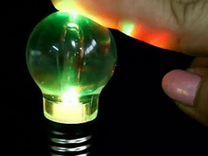 Светодиодный брелок Лампочка
