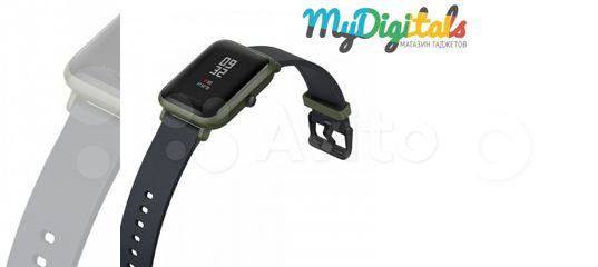 bd7ef939 Умные фитнес часы Amazfit Bip Зеленые с гарантией купить в Краснодарском  крае на Avito — Объявления на сайте Авито