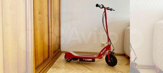 Электросамокат Razor 100 До 55 кг купить в Москве с доставкой   Личные вещи   Авито
