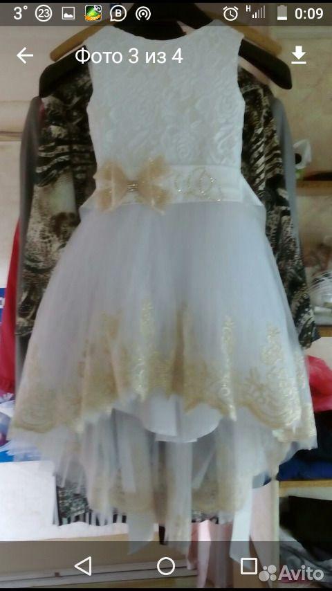 Прокат платья на 5-6-7лет  89284707652 купить 2