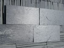 Сланец черный Графит плитка фасадная