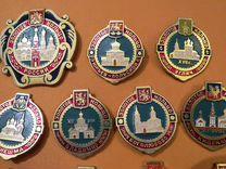 Значки Золотое кольцо России