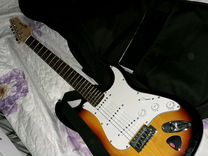 Гитара VGS, комбик, педалик, наушники