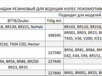 TT/12 мм Шины тяговые разных размеров/Жел. дорога