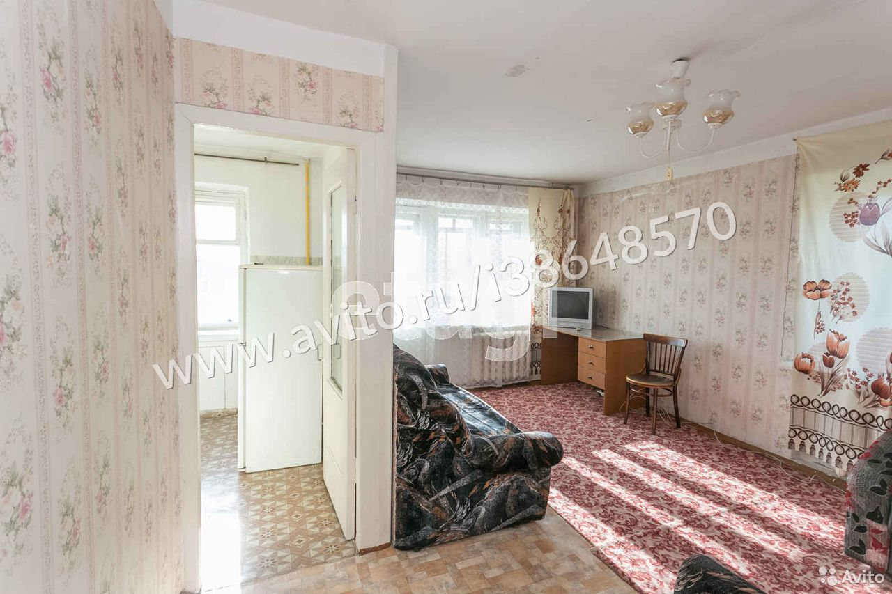 1-room apartment, 31.3 m2, 5/5 floor.  89227153913 buy 8