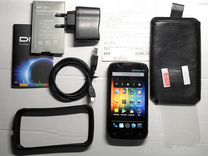 Смартфон DNS S4502 с запасной батареей 4160 мАч