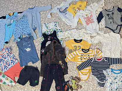 Большой пакет одежды 68