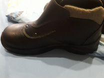 Защитные ботинки от повреждений