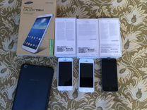 iPhone 3шт+планшет SAMSUNG