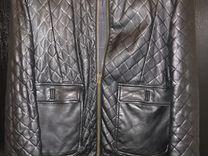 Куртка кожаная collection privee