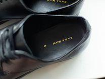 Туфли кожанные zara новые