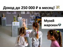 Франшиза Музей Марсиан доход до 250 000 т.р в мес