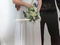 Платье свадебное, вечернее размер 48